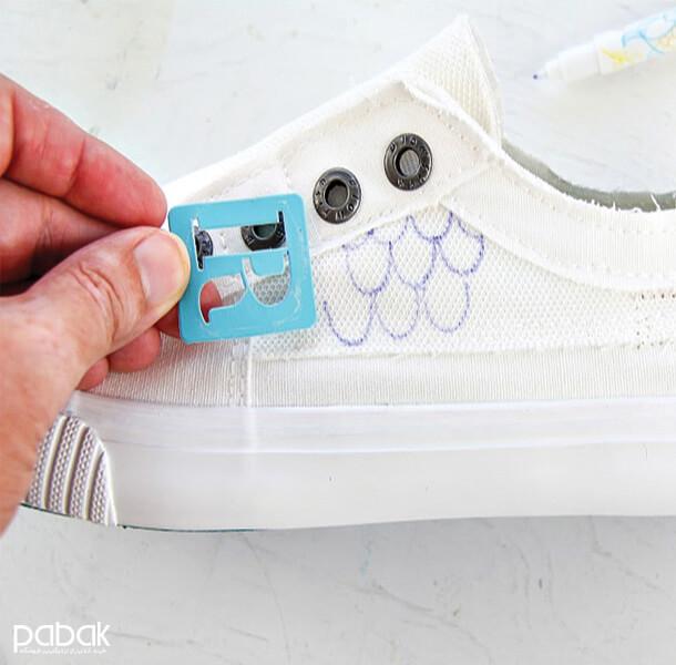 How to paint shoes 11 - چطور کفش را رنگ کنیم
