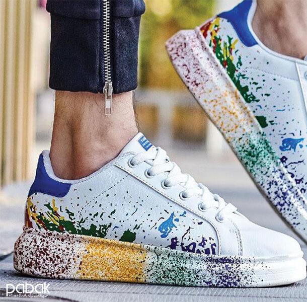 How to paint shoes 8 - چطور کفش را رنگ کنیم