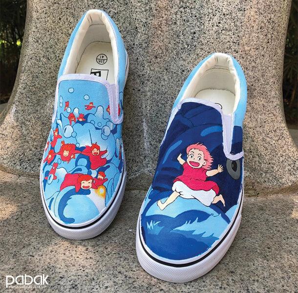 How to paint shoes - چطور کفش را رنگ کنیم