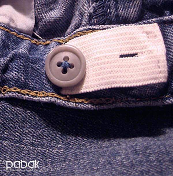 How to tighten the waist of pants 6 - چطور کمر شلوار را تنگ کنیم