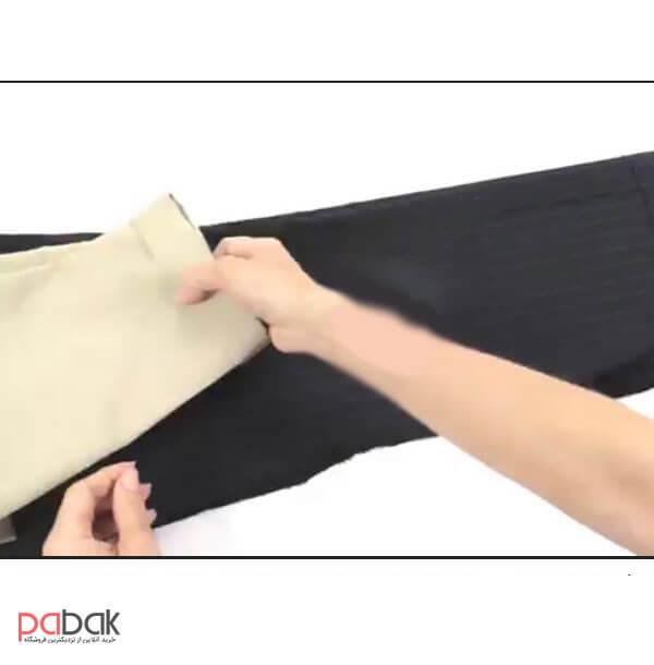 Tighten the hem of the pants 3 - چگونه شلوار را از بغل تنگ کنیم