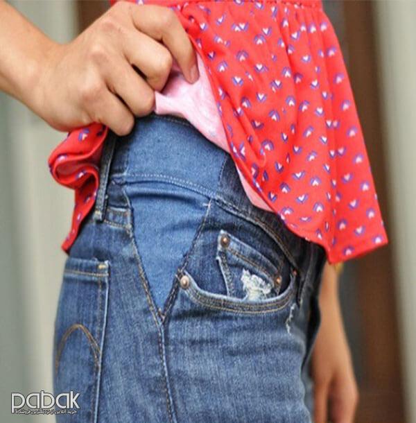 how to loosen tight pants - چطور شلوار تنگ را گشاد کنیم