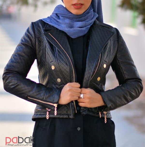 leather jacket 4 - کاپشن چرم را با چی بپوشیم