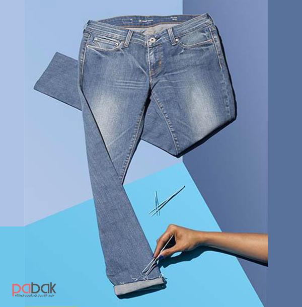 pants height 3 - چگونه شلوار کوتاه را بلند کنیم