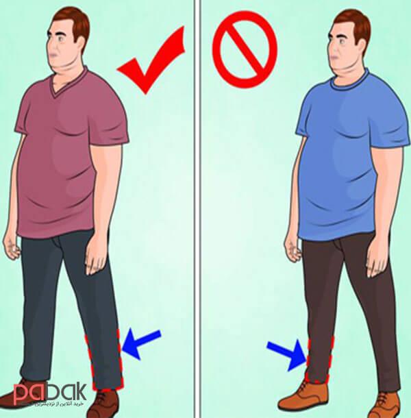 لباس مناسب افراد چاق کوتاه قد