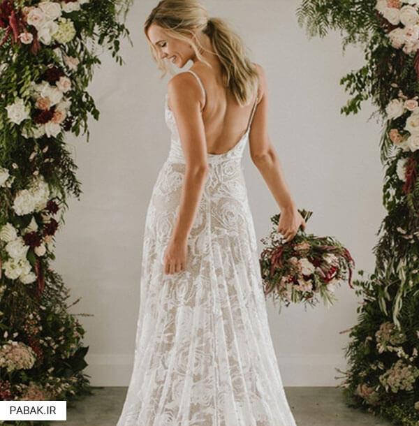 لباس عروس با توجه به فصل - چگونه لباس عروس انتخاب کنیم
