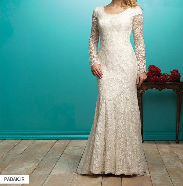 پارچه لباس عروس - چگونه لباس عروس انتخاب کنیم