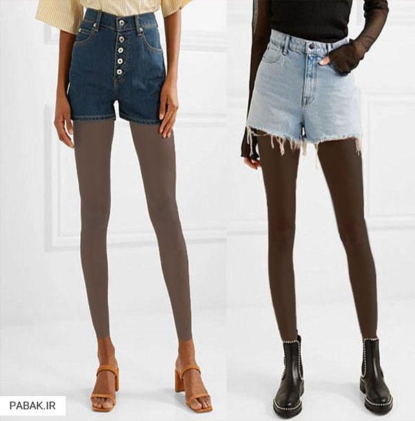 جین فاق بلند - انواع شلوار جین فاق بلند