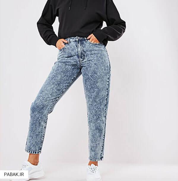 جین فاق بلند برای خانم های لاغر اندام و کوتاه قد - همه چیز درباره شلوار جین فاق بلند