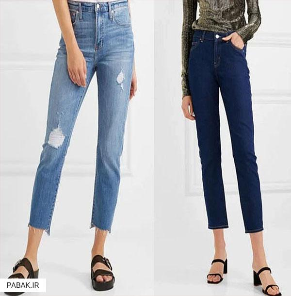 فاق بلند جین مردانه - انواع شلوار جین فاق بلند