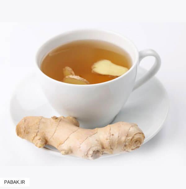 تهیه ی چای زنجبیل - زنجبیل برای چربی سوزی