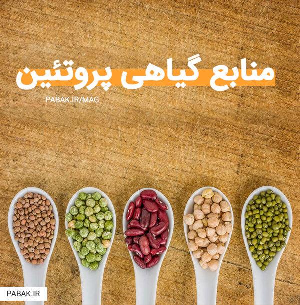 منابع گیاهی پروتئین