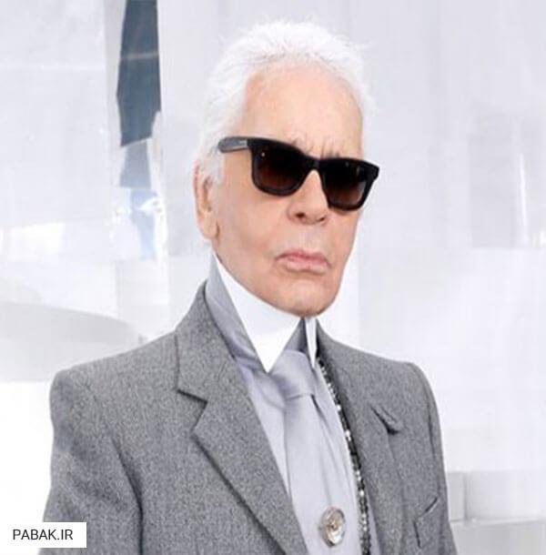 لاگرفلد طراح لباس معروف - برترین طراحان لباس دنیا