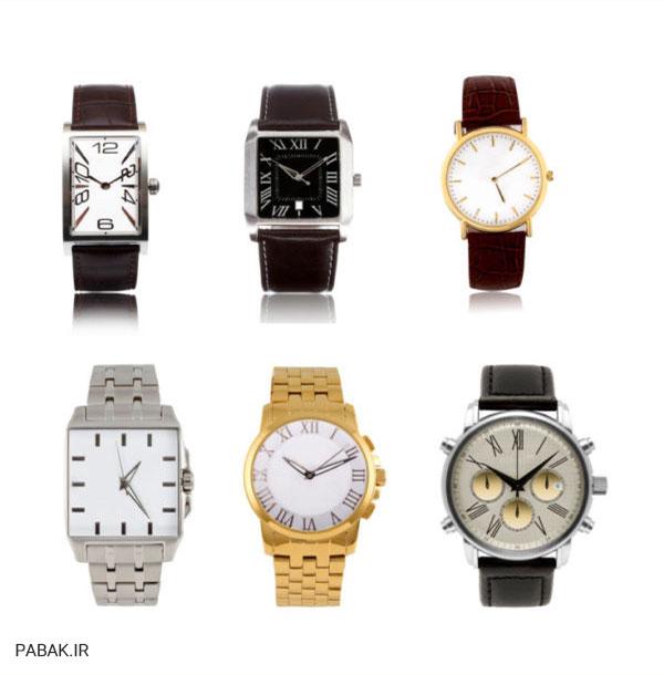 ساعت مچی مناسب شماست - انواع مختلف ساعت مچی