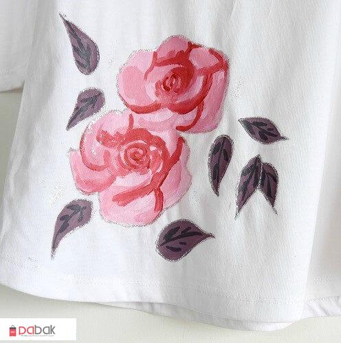 t shirt painting16 - چگونه روی پارچه نقاشی کنید