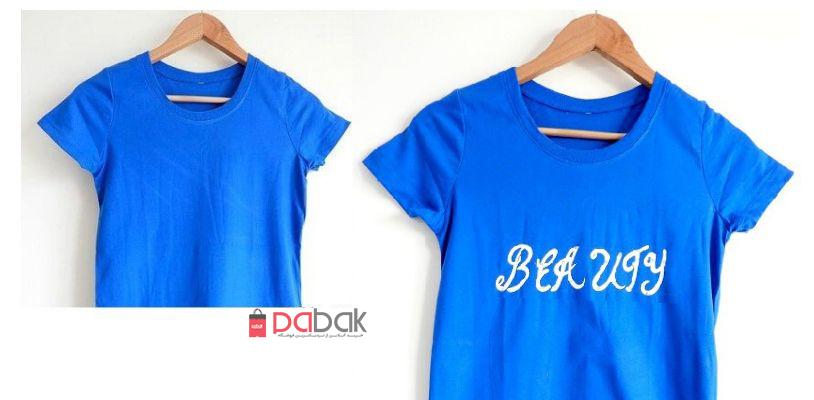 t shirt paintingdiy - چگونه روی پارچه نقاشی کنید