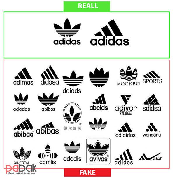 original shoes from Fake 44 - تشخیص کفش اصل از فیک