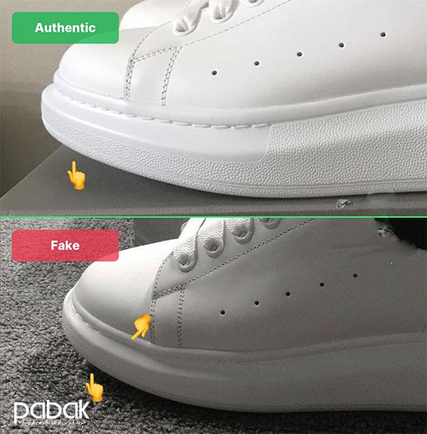 original shoes from Fake - تشخیص کفش اصل از فیک