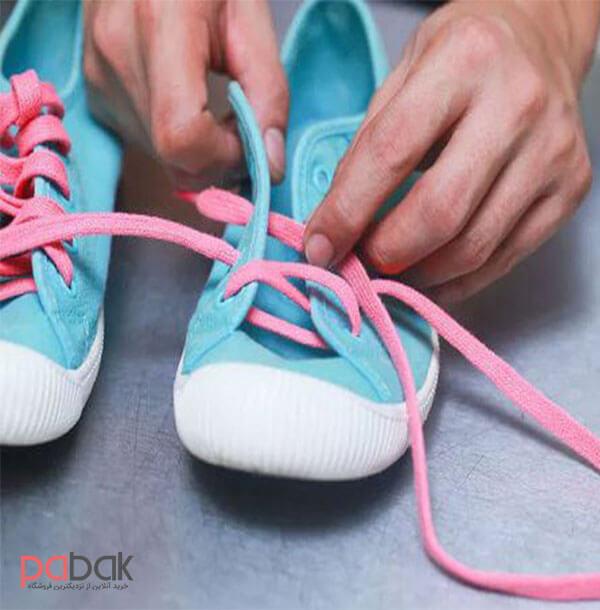 wash shoes in laundry 1 - آموزش شستن کفش در لباسشویی