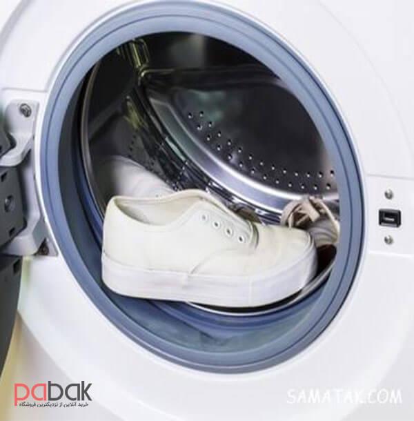wash shoes in laundry 2 - آموزش شستن کفش در لباسشویی