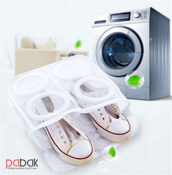 wash shoes in laundry - آموزش شستن کفش در لباسشویی