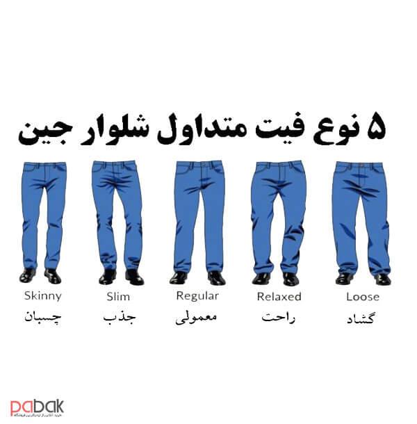 Choose jeans that fit your body shape10 - انتخاب شلوار جین متناسب با فرم بدن
