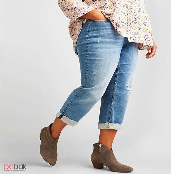 Choose jeans that fit your body shape4 - انتخاب شلوار جین متناسب با فرم بدن
