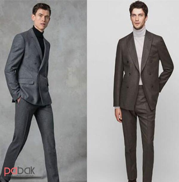 Methods of wearing a mens suit - روش های پوشیدن کت و شلوار مردانه