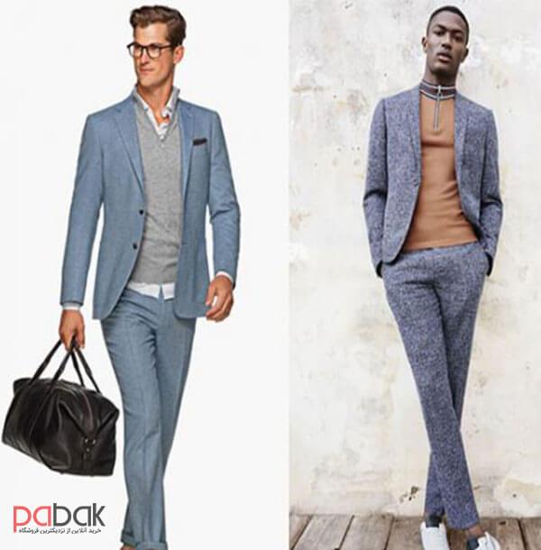 Methods of wearing a mens suit1 - روش های پوشیدن کت و شلوار مردانه