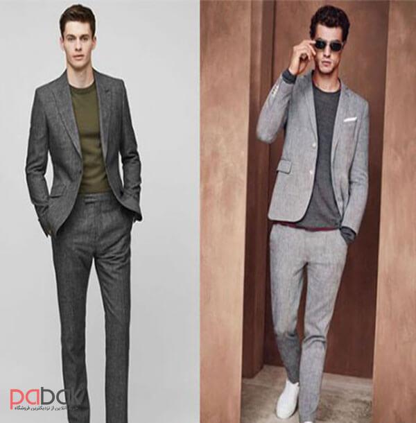 Methods of wearing a mens suit2 - روش های پوشیدن کت و شلوار مردانه