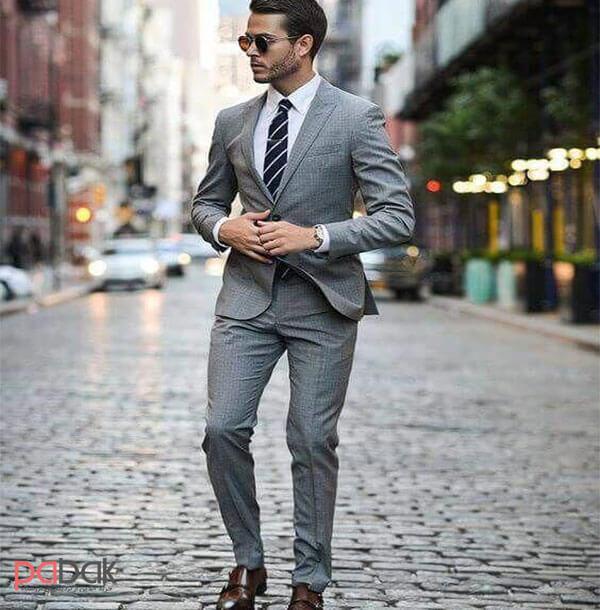 Methods of wearing a mens suit3 - روش های پوشیدن کت و شلوار مردانه
