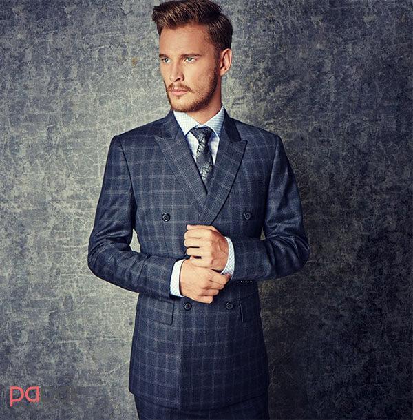 Methods of wearing a mens suit4 - روش های پوشیدن کت و شلوار مردانه