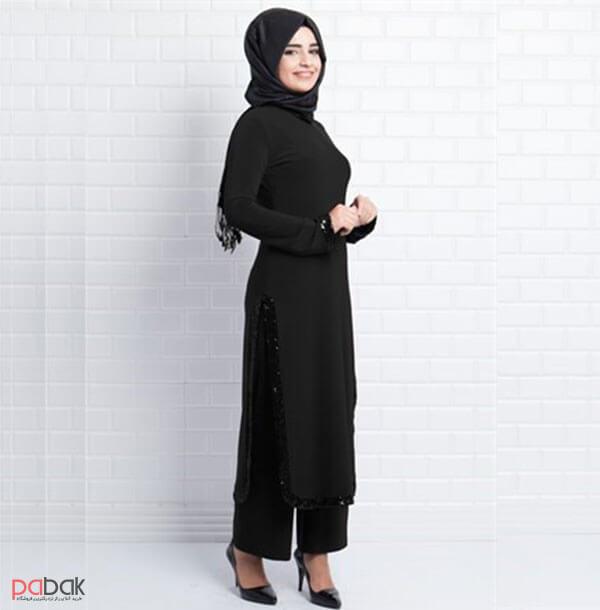 The long Manto is suitable for short people7 - مانتو بلند برای افراد کوتاه قد مناسب است