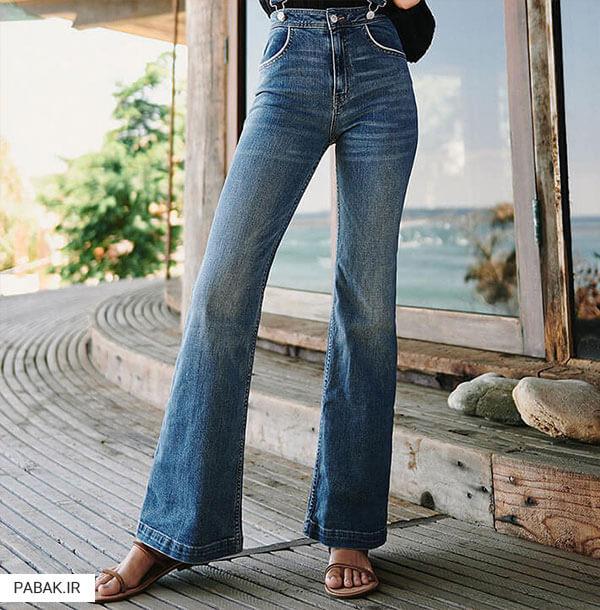 ترین دیده شدن با شلوارهای فاق بلند - همه چیز درباره شلوار جین فاق بلند