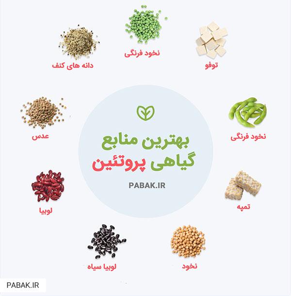 کبدی - عوارض کمبود پروتئین در بدن