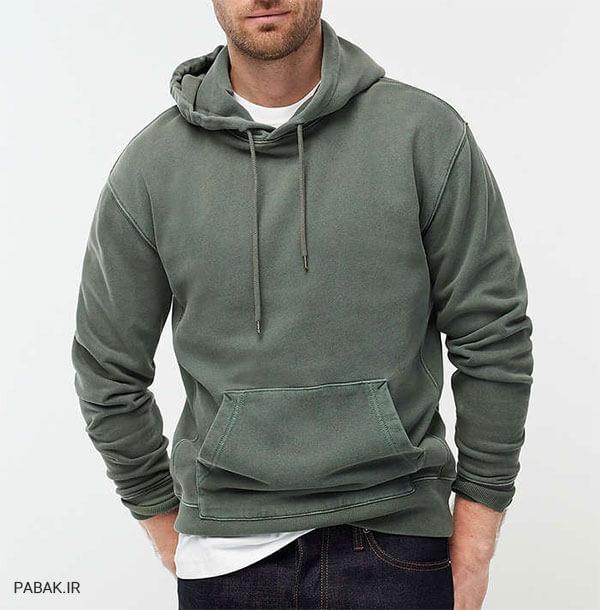 تکمیلی برای پوشیدن هودی و سویشرت - راهنمای خرید سویشرت مردانه