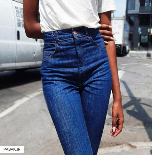 های شلوار جین فاق بلند - همه چیز درباره شلوار جین فاق بلند