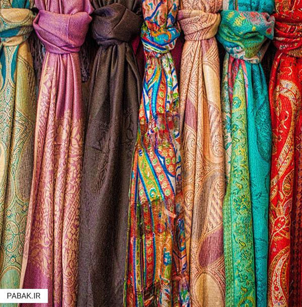 ابریشم - بهترین پارچه های لباس زمستانی